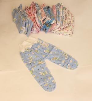 Ползунки для новорожденного, байка. Украина. арт.1093
