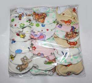 Царапки для новорожденного, хлопок. Упаковка 10 шт. Украина. арт.1157