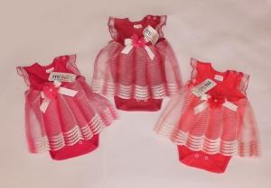 Боди-платье для новорожденного, интерлок. Турция. арт.1216