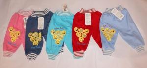 Детские штанишки на 1-9 месяцев, интерлок. Турция.арт.1253
