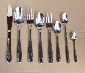 Набор столовых приборов 8 предметов (гладь)