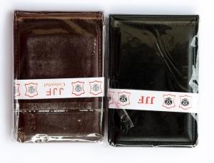 Зажим для денег мужской 8х11см, пресскожа, магнит. арт.1036