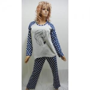 Женская пижама байковая KN-540-1 (байка)