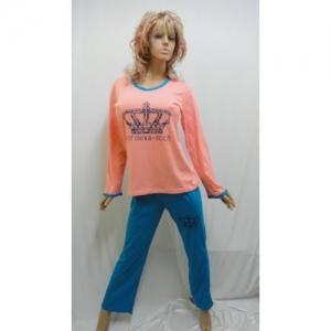 Женская пижама с брюками KN-564 (хлопок)