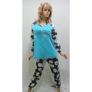 Женская пижама байковая KN-569 (байка)