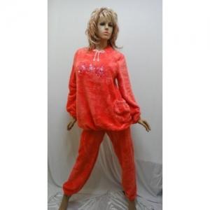 Женская пижама махровая KN-631-1 (махра)