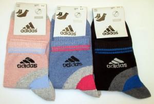 """Носки женские спортивные """"Adidas"""", р.36-40"""