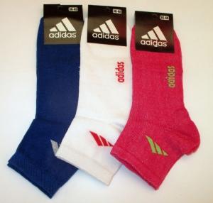"Носки женские летние ""Adidas"" Турция, размер 36-40. арт.1082"
