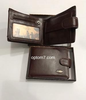 Мужской кожаный кошелек размер - 538, Арт. 181