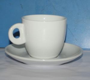 Набор чайный фарфоровый 2 предмета (чашка 225мл)