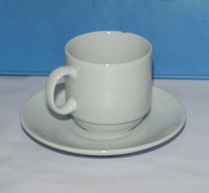 Набор кофейный фарфоровый 2 предмета (чашка 80мл)