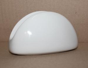 Салфетница белая фарфоровая