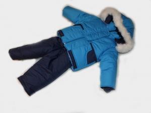 Зимний костюм для мальчика, плащевка. Украина. арт.1176