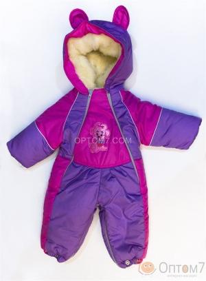 Комбинезон детский зимний от 0 до 1, 5 года арт.0023