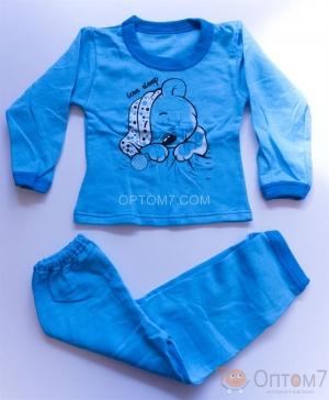 Пижама детская для мальчика от 3-х до 8 лет арт.0018