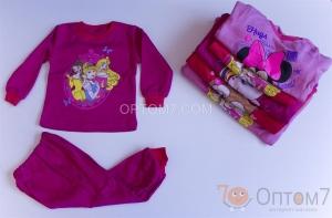 Пижама детская для девочки от 1-го до 7 лет арт.0022