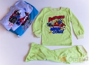 Пижама детская для мальчика от 1-го до 7 лет арт.0025