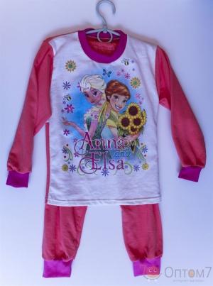 Пижама детская для девочки от 3-х до 10 лет арт.0033