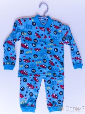 Пижама детская для мальчика от 1-го до 6 лет арт.0034