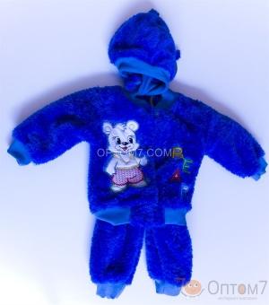 Детский махровый костюм до 1,5 лет арт.0036