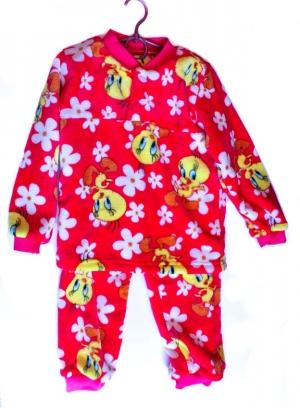 Пижама детская махровая от 1,5 до 6 лет арт.0055