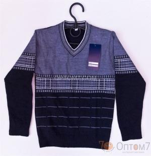 Пуловер для подростка р.42, 44, 46, арт.0055