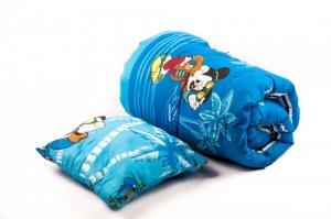 Одеяло детское силиконовое с подушкой